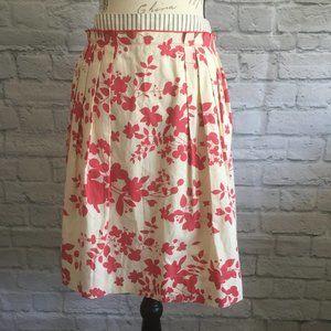 Anthropologie Viola Cherry Blossom Skirt Size 8